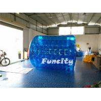 Wholesale Bule 3M Length Inflatable Aqua Rolling Ball / Human Hamster Walking Roller from china suppliers