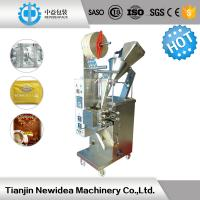 Wholesale 3 Sides / 4 Sides Coffee Bag Filling Machine , Coffee Powder Packing Machine 6000 Bags/Hour from china suppliers