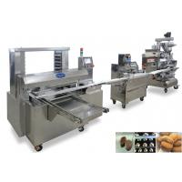 Wholesale 380V Mooncake Filled Encrusting Machines Cookies Producion Line from china suppliers