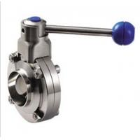 Wholesale Stainless Steel Threaded Butterfly Valve With Plastic Ball Handle from china suppliers