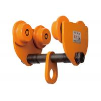 Wholesale GCT610 Orange Chain Hoist Trolley , 10 Ton Manual Hoist Trolley from china suppliers