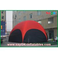 Wholesale 3 M Red Hexagon Large Outdoor Inflatable Tent PVC For Vocation from china suppliers