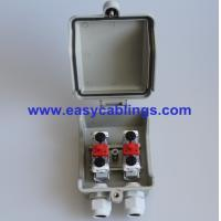Wholesale Plastic VX-SB Network Distribution Box with 3 Pole Arrester Protection STB Module from china suppliers