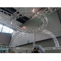Wholesale Aluminum Screw Circular Lighting Truss For Exhibition On Truss Top from china suppliers