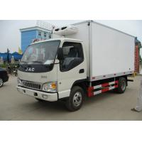 Wholesale 4x2 3 Tons Freezer Box Truck , Refrigerated Delivery Truck With Thermo King Unit from china suppliers