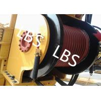 Wholesale High Efficient Offshore Winch Wire Rope Rotary Drilling Rig Winch With Lebus Drum from china suppliers