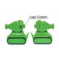 Buy cheap Promotional Tank Shaped PVC USB Flash Drive 10 MB/S Reading Speed High Speed USB 2.0 from wholesalers