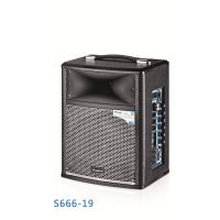 Wholesale Wireless Portable Microphone Battery Powered Dj Speakers Pro Sound Pa System from china suppliers