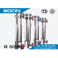 Wholesale High precision Bag Filter Housing single bag stainless steel liquid filtration from china suppliers