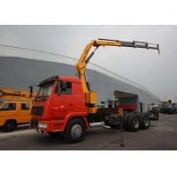Wholesale XCMG 5 Ton Transportation Folding Boom Crane / Lorry Mounted telescopic mobile crane from china suppliers