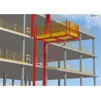 Buy cheap Red Aluminum Alloy Cantilever Loading Platform For Removing Material from wholesalers