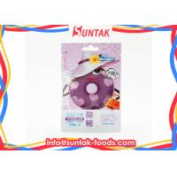 Wholesale Purple Dot Grape Flavor Sour Sweets Candy With Zip - Lock Bag from china suppliers