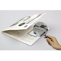 Buy cheap Promotional Usb Webkey Business Card , Paper Webkey Custom Printed Logo from wholesalers
