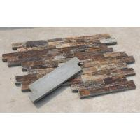 Wholesale Rusty Slate Cemented Ledgestone Natural Stone Cladding Real Stone Veneer Slate Culture Stone from china suppliers
