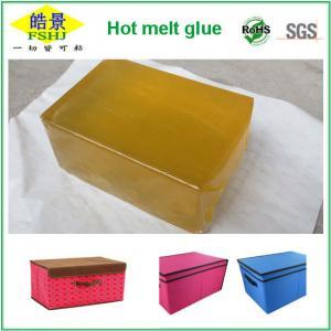 Wholesale Light Yellow Eva Based Hot Melt Adhesive , Pressure Sensitive Adhesive Glue from china suppliers