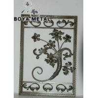 Wholesale Wrought Iron Scroll Panel for Wall Decoration from china suppliers