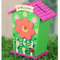 Wholesale Wood House Money Cash Box from china suppliers