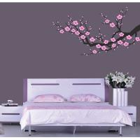 Wholesale Contemporary Cool Wall Decoration Flower Stickers HB-119, Design Wall Sticker from china suppliers