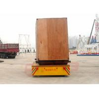 Wholesale 20 ton battery powered trackless transfer carriage on cement floor from china suppliers