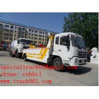 Wholesale Dongfeng Tianjin 10-14ton tow wrecker truck(1 operating one) CLW5160TQZD3 from china suppliers