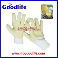 Wholesale Material Latex hand working gloves ,safety latex Gloves from china suppliers