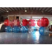 Wholesale Blue Inflatable Sports Games , 60kg Inflatable Zorb Ball For Grassplot / Snow from china suppliers