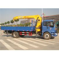 Quality China Sino Truck FOTON 4x2 Truck Mounted Crane 8 Tons Cargo Mounted Straight Arm for sale