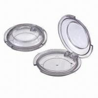 Wholesale Cosmetic Packaging Boxes/Containers/Cases, Powder Compacts, Made of ABS, AS from china suppliers