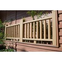 Wholesale Garden WPC Railing Plastic And Wood Composite Material 1200*1000MM from china suppliers