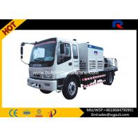 Wholesale Air Cooling Truck Mounted Concrete Pump 66kw Power Double Circuit Opening System from china suppliers