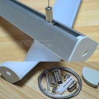 Wholesale 20mm width PCB strip light pandent aluminum profile suspended mounted Aluminum channel accessory for home lihgting from china suppliers