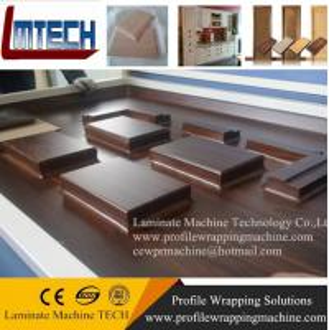 Wholesale furniture making veneer vacuum membrane press machine from china suppliers
