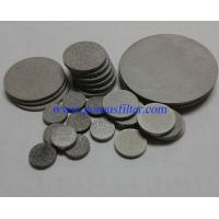 Stainless Steel Sintered Filter Disc Manufacturer