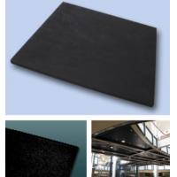 Wholesale Edge Sound Absorption Fiberglass Ceiling Panels Black Square For Modern Buildings from china suppliers