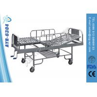 Wholesale 2 Function Manual Elderly Hospital Bed Nursing Bed With Mattress / Overbed table from china suppliers