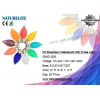 Wholesale C9 Pine Cone LED Christmas Light Bulbs Waterproof Fireproof CE / RoHS Certificate from china suppliers