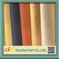 Wholesale Shiny Surface Polyurethane Synthetic Leather For Sofa / Car Seat Cover 0.8-1.2mm Thickness from china suppliers