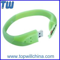Wholesale Colorful Bracelet Cheap Usb Flash Drives with Buckle Delicate Design for Gifts from china suppliers
