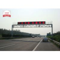 Quality P10 outdoor electronic highway signs , full color highway sign boards for sale