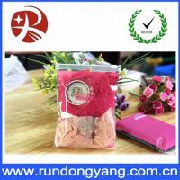 Wholesale Plastic Pink Packaging Bags With Ziplock Top Underwear Packing from china suppliers