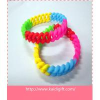 Buy cheap Rubber Sports Silicone Bracelets Durable from wholesalers