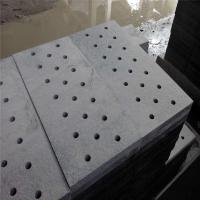 Wholesale China Granite Dark Grey G654 Granite Gutter Stone Drainage Paver Round Holes or Strip Hole from china suppliers