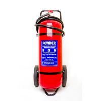 Wholesale Professional 50Kg Trolley Fire Extinguisher Safe / Reliable For Railway Station from china suppliers