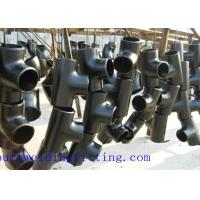 Wholesale Super Duplex S32750 Butt Weld Reducing Tee Asme B 16.9 Butt Welded Elbow 1-48 Inch from china suppliers