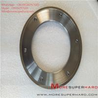 Wholesale 164*6*105*3*3 Metal Bond Diamond Grinding Wheel for Glass Machine ALisa@moresuperhard.com from china suppliers