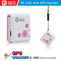 Wholesale Good quality personal gps tracker kids with two way communication gps tracker SOS Call Chi from china suppliers