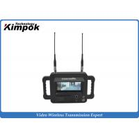 Wholesale Military Outdoor 2.4 Ghz Video Receiver / Handheld High Definition Wireless Digital Receiver from china suppliers