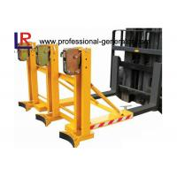 Wholesale Safe Warehouse Material Handling Equipment Grab Mounted Drum Loader Forklift Attachment from china suppliers