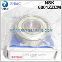 Wholesale Japan NSK 6001ZZCM 12X28X8 mm Radial Deep Groove Ball Bearing from china suppliers