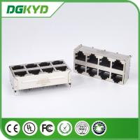 Wholesale Vertical Rj45 Jack 2X4 Top Entry E6588-A59124-L Rj45 Connector With Magnetics from china suppliers